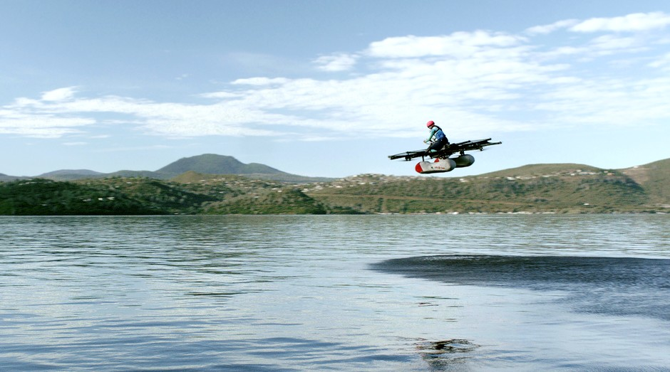 Carro voador da Kitty Hawk, que deve ser lançado comercialmente até o final do ano (Foto: Divulgação)