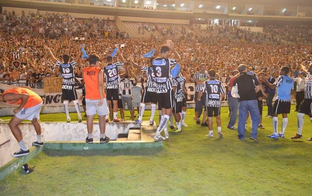 Botafogo-PB, Série D, João Pessoa, Almeidão, Paraíba (Foto: Larissa Keren / Globoesporte.com/pb)