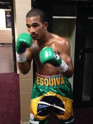 Esquiva Falcão aguarda novo adversário para sua quarta luta no boxe profissional (Foto: Thais Penna)