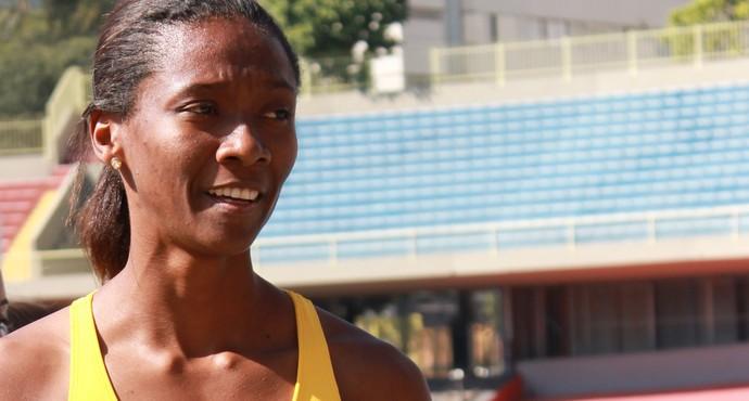 Joelma das Neves; atletismo; seleção brasileira; mundial (Foto: Náyra Macêdo/GLOBOESPORTE.COM)