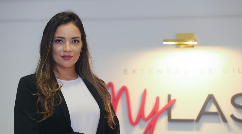 Carina Arruda, CEO e fundadora da MyLash (Foto: Divulgação)
