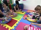 Empresárias de Niterói apostam em academia para bebês e crianças