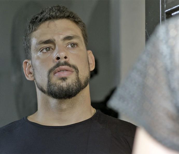 Será que Juliano vai dar uma chance para Belisa? (Foto: TV Globo)