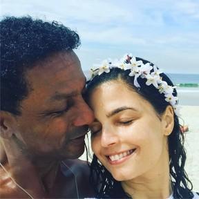 Luiz Miranda e Emanuelle Araújo (Foto: Reprodução/Instagram)