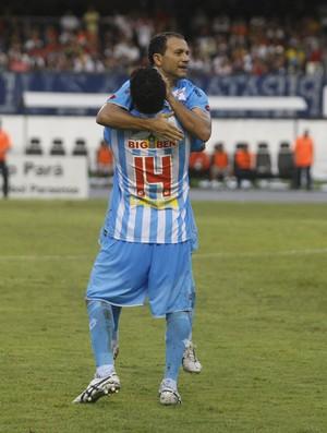 Iarley marcou na estreia, mas não evitou derrota (Foto: Tarso Sarraf / O Liberal)