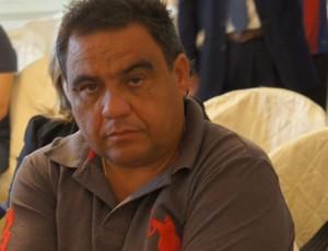 Tiko Miudezas, presidente do Paraíba de Cajazeiras (Foto: Renata Vasconcellos)