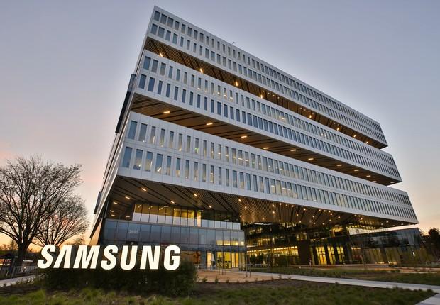 Campus da empresa coreana de tecnologia Samsung em Seul (Foto: Divulgação)