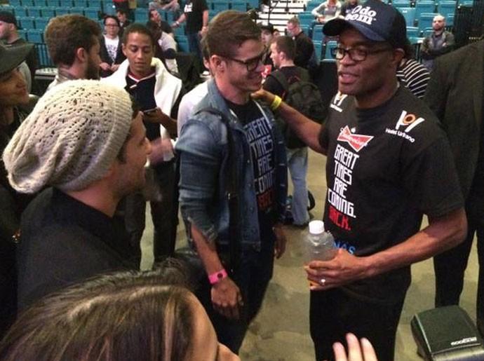 Anderson Silva, UFC 183, astros da tv