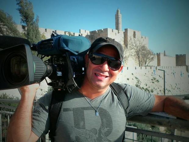 Cinegrafista Ari Júnior está entre mortos em avião da Chapecoense, na Colômbia (Foto: Reprodução/Facebook)