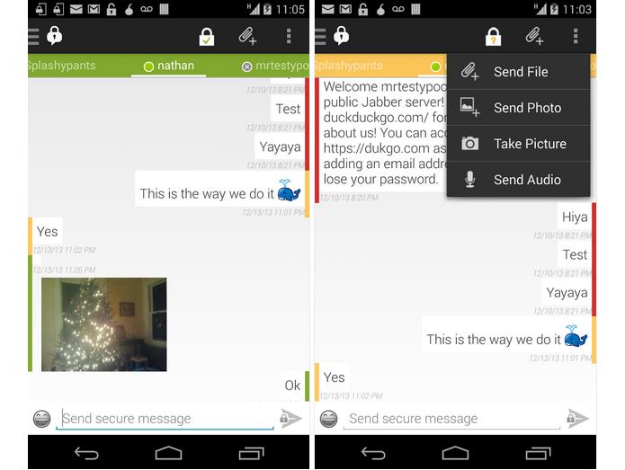 ChatSecure é um app para bater papo com privacidade (Foto: Divulgação)