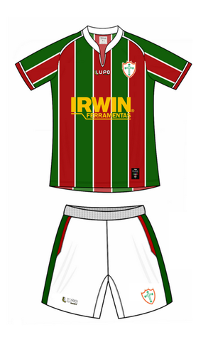 uniforme Portuguesa Fluminense (Foto: Reprodução)