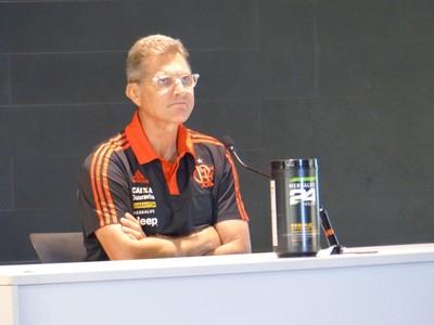 Oswaldo de Oliveira - Flamengo x Orlando City (Foto: Fred Gomes)