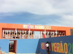 Candidatas aguardam o resultado do concurso (Foto: Jessica Mello/G1)