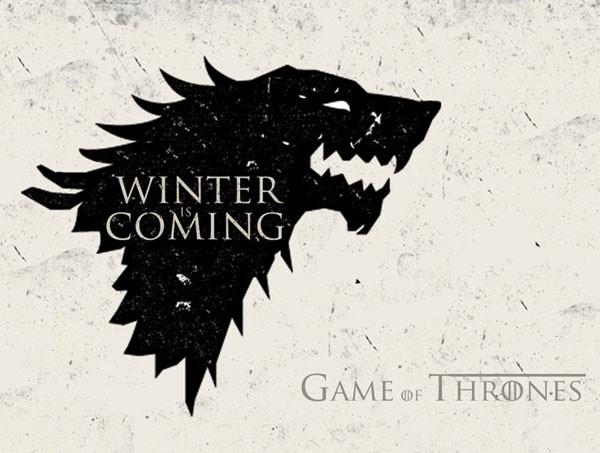 Imagem usada para anunciar primeiro capítulo da saga, Winter is coming. (Foto: Reprodução/Twitter)