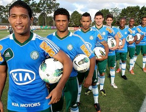 base Palmeiras (Foto: Cesar Greco / FotoArena)