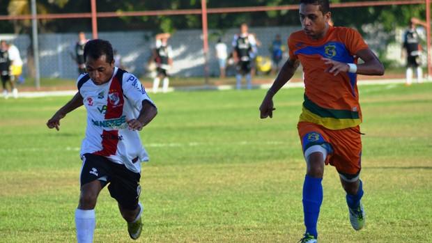 Gol saiu aos 41 minutos do 2º tempo (Foto: Felipe Martins/GLOBOESPORTE.COM)