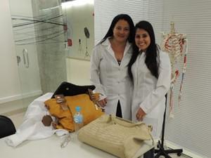 Silvana e Vanessa aprovam a metodologia (Foto: Tatiana Lopes/G1)