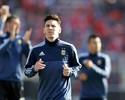 """Messi, sobre aposentadoria de Pablo Aimar: """"Retira-se um dos meus ídolos"""""""