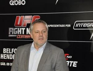 Marshall Zelaznik - Diretor de Operações Internacionais do UFC (Foto: Guilherme Gonçalves / Globoesporte.com)