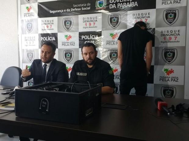 Mais um suspeito de participação na morte de família na Espanha foi preso em João Pessoa, na Paraíba (Foto: Diogo Almeida/G1)