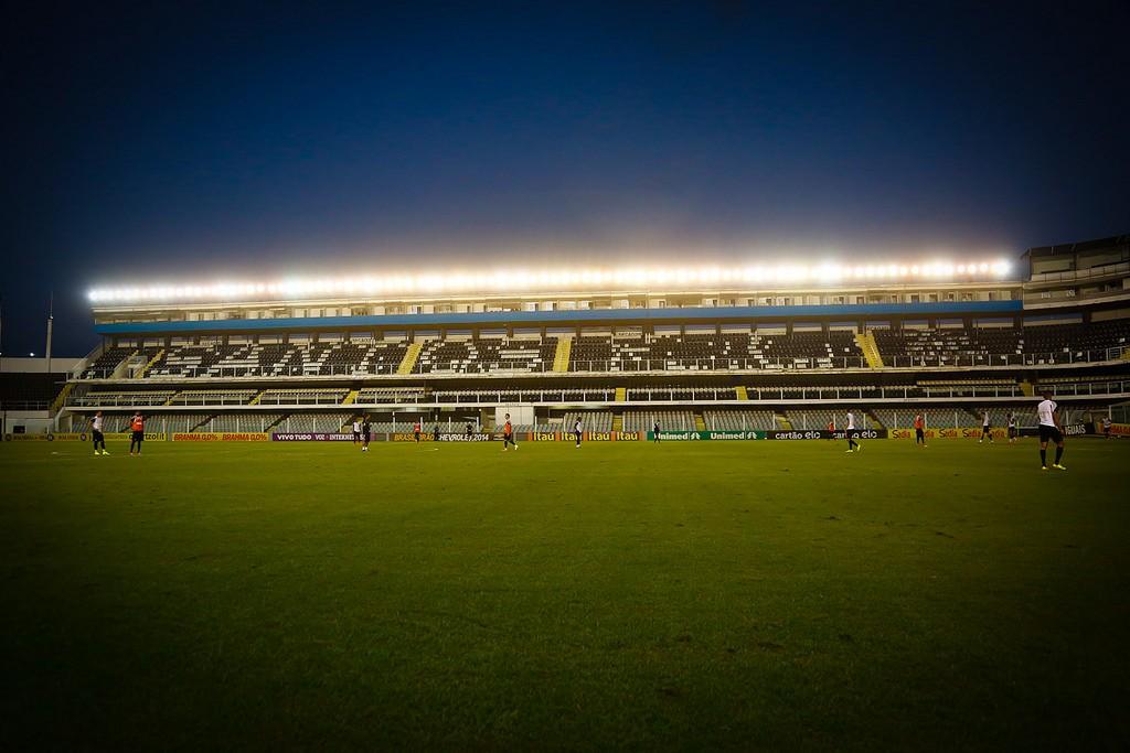 Vila Belmiro será palco da primeira partida da final da Copa do Brasil (Foto: Ricardo Saibun/Santos FC)