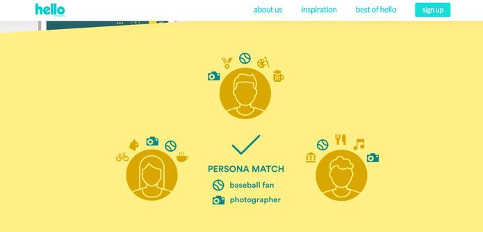 Persona Match promete ser uma das novidades da Hello (Foto: Reprodução/Felipe Vinha)
