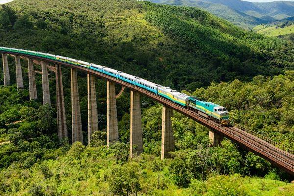 A partir da próxima terça-feira, dia 10 de março, a estação ferroviária de Fundão não funcionará mais como bilheteria para o Trem de Passageiros da Estrada de Ferro Vitória a Minas (EFVM) (Foto: Divulgação/ Vale do Rio Doce)