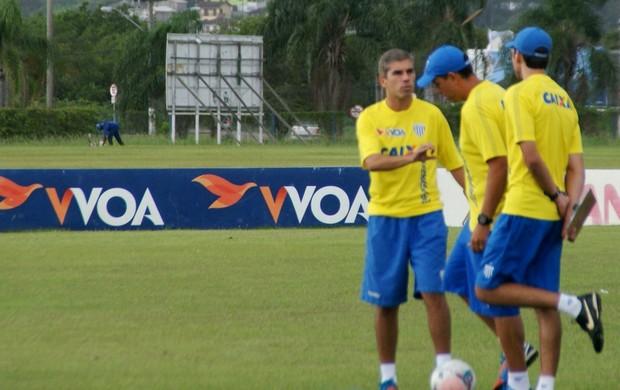 Ricardinho técnico treino Avaí  (Foto: Alceu Altherino / Avaí FC)