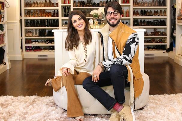 Camila Coelho e Kadu Dantas (Foto: Reprodução)