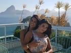 Fran Petersen, musa da Rocinha, fala sobre noivado com Luana Caetano