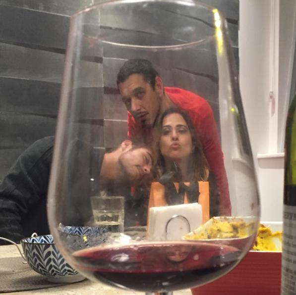 Tatá Werneck, Rafa Vitti e João Vicente (Foto: Instagram/Reprodução)