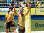 Reis da areia: Alison/Bruno sela título do Brasileiro com vitória em Fortaleza