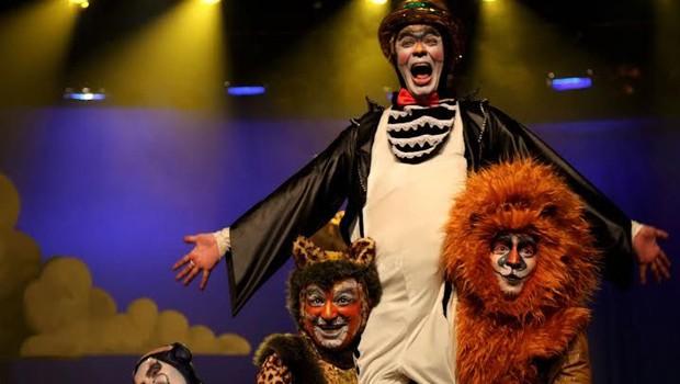 Espetáculo infantil 'A Arca de Noé' estreia no Teatro Guaíra (Foto: Reprodução/RPC)