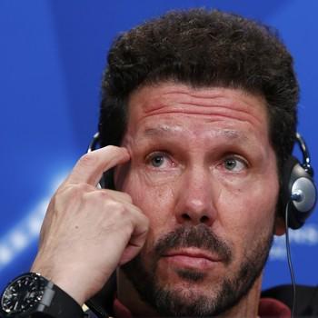 Diego Simeone, técnico do Inter de Milão (Foto: Michaela Rehle/Reuters)