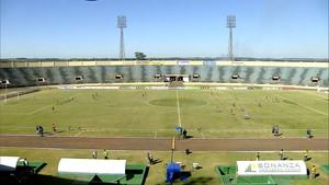 Estádio Douradão, final, Sete de Dourados x Comercial-MS (Foto: Reprodução/TV Morena)