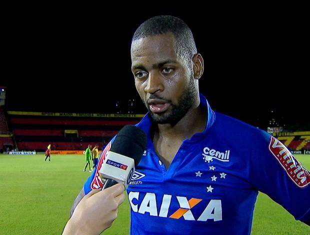 Dedé analisa empate do Cruzeiro com o Sport