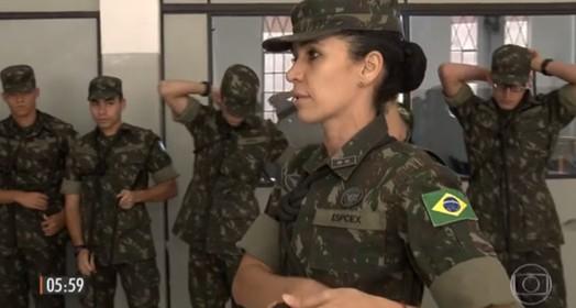 Mulheres no exército (reprodução)