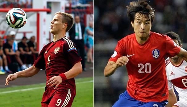Globo transmite partida entre Rússia x Coréia do Sul nesta terça, dia 17 (Foto: AP / Divulgação Fifa)