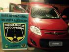 Polícia de MS recupera carro roubado durante fiscalização em rodovia