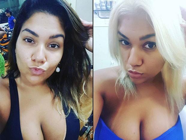 O antes e o depois de Yani de Simone, a Mulher Filé (Foto: Instagram/ Reprodução)