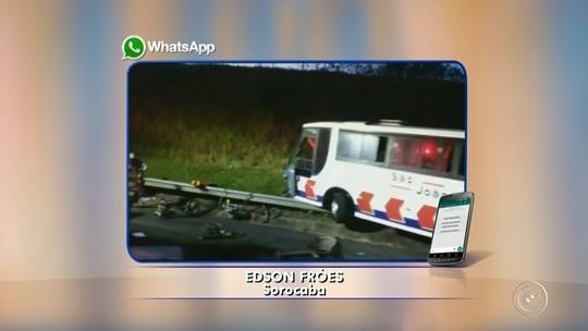 Sequência de acidentes complica o trânsito na Castelinho em Sorocaba