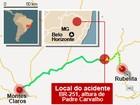 Corpo de Bombeiros divulga lista de vítimas de acidente na BR-251