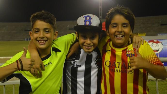 Bruno, Bernardo e Pedro Antônio, Botafogo-PB (Foto: Hévilla Wanderley / GloboEsporte.com/pb)