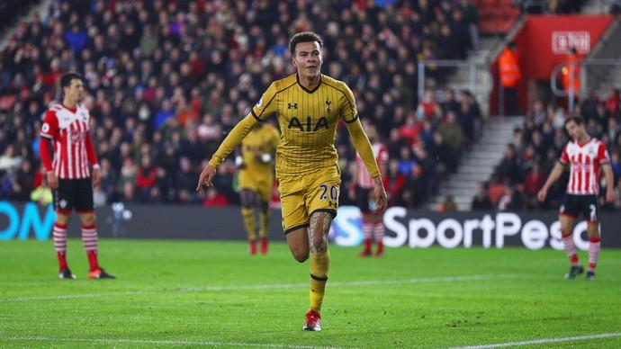Dele Alli, Southampton x Tottenham (Foto: Ian Walton/Getty Images)