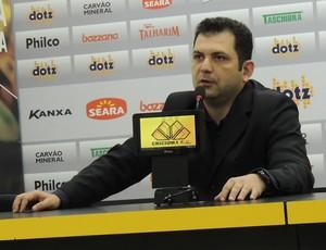 Claúdio Gomes Criciúma (Foto: João Lucas Cardoso)