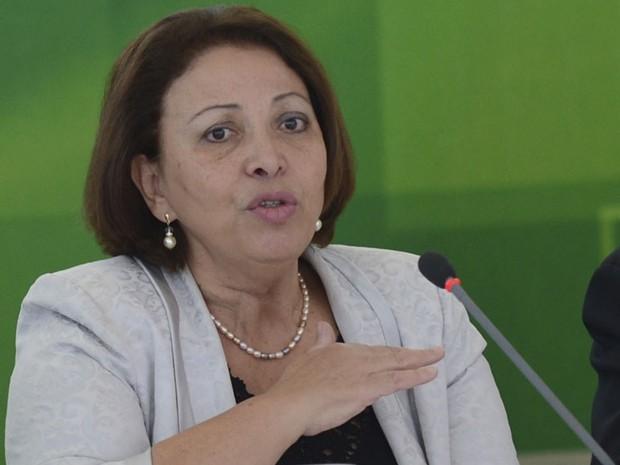 A ministra das Relações Institucionais, Ideli Salvatti (Foto: Antônio Cruz/ABr)