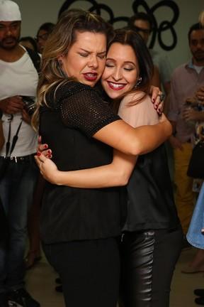 Fernanda Souza e  Carla Diazem peça em São Paulo (Foto: Manuela Scarpa/ Foto Rio News)