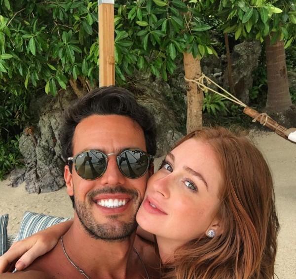Marina Ruy Barbosa e o noivo (Foto: Reprodução / Instagram)