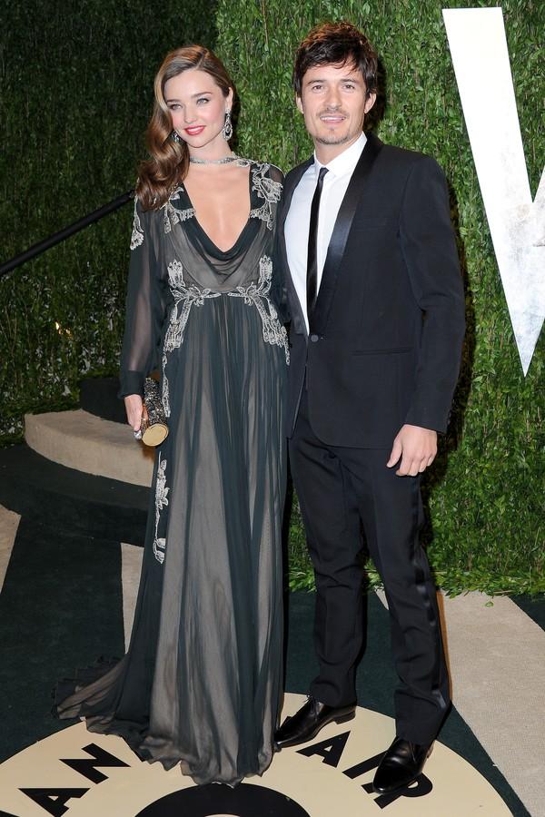 Orlando Bloom e Miranda Kerr foram casados por três anos (Foto: Getty Images)