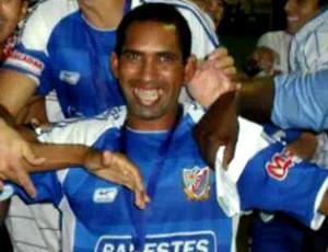 Luciano Beré, atacante do Colatina (Foto: Divulgação/Arquivo Pessoal)